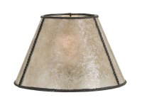 Parchment Empire Style Mica Lamp Shade 05717N   B&P Lamp ...