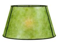 Green Mica Empire Style Floor Lamp Shade 05719G   B&P Lamp ...