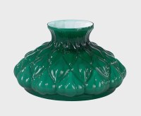 10 Cased Green Glass, Embossed Artichoke Shade 06563 | B&P ...