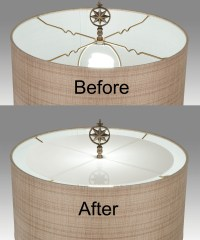 Fabric Lampshade Diffuser 08339 | B&P Lamp Supply