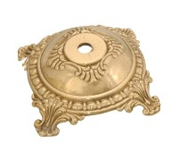 Small Victorian, Die Cast Brass Lamp Base 10009U