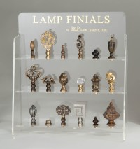 Finial Display Case - 18 finials 11350 | B&P Lamp Supply