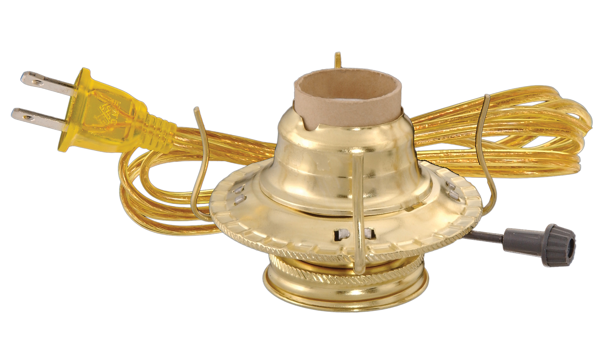 2 Brass Plated Electric Burner 30204 Bp Lamp Supply