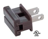 Brown Slide On Type Polarized Lamp Plugs 48555B | B&P Lamp ...