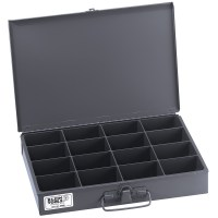 Klein Tools Mid-Size 16-Compartment Storage Box 99113 | B ...