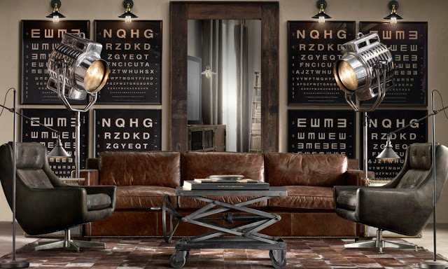 Industrial Inspiration Modern Looks for Your Living room - industrial living room ideas