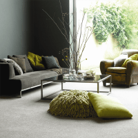 A contemporary living room inspiration with a ...