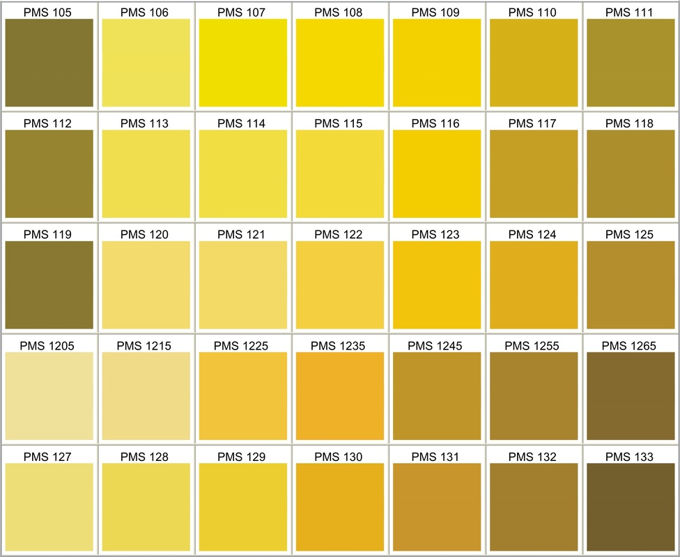 PMS Color Chart - Choose Your Own Silicone Bracelets, Silicone Wrist