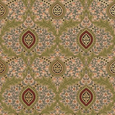 Knightsbridge Damask Wallpaper   Victorian Wallpapers   Bradbury & Bradbury