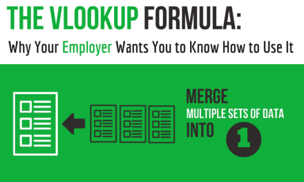 The Vlookup Formula: Why Your Employer Wants you to Know How to Use It (And What You Can Do About It)