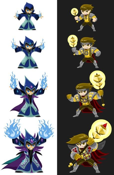 Crystal-Casters-Game-Make-RPG-Evolving-Character-Design2