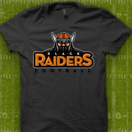 Winslow Black Raiders Football T-Shirt