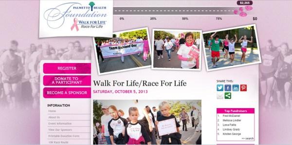 Walk website