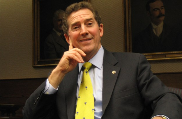 DeMint in an editorial board meeting, February 2007.