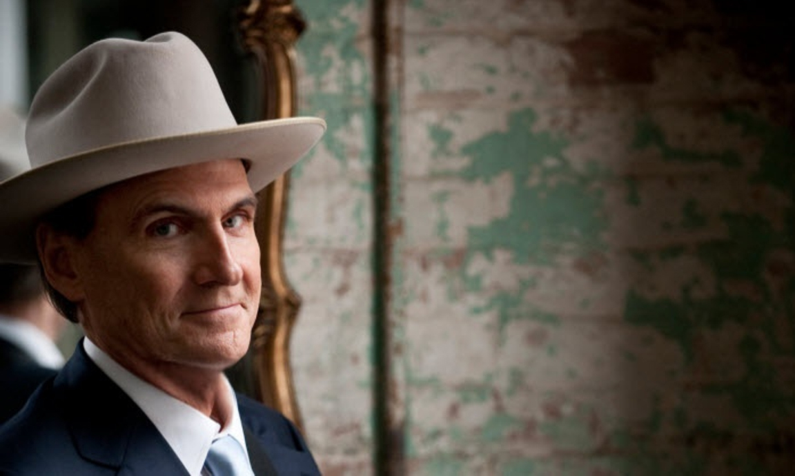 James taylor now wearing lbjs cowboy hat bradwarthen yeah i know he lost his hair and no longer looks like this and guys who lose their hair often wear hats even in this post jfk era publicscrutiny Image collections