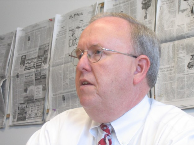 Mayor Bob, during an editorial board interview in 2008.