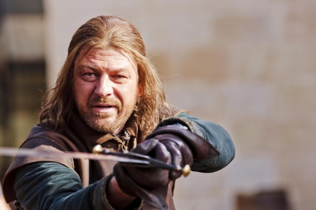 """People used to say """"He who lives by the sword dies by the sword,"""" Ned Stark being a case in point. Today, they seem to think that if you outlaw swords, only outlaws will have swords..."""