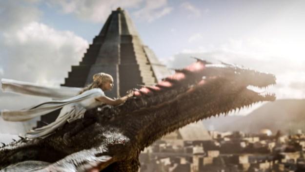 Meanwhile, Daenerys and her dragons, yadda-yadda...