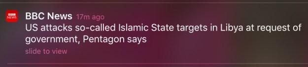 BBC alert