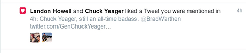 yeager tweet