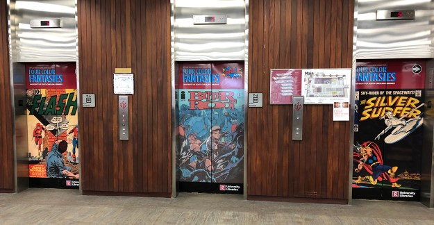 If you haven't checked out Gary Lee Watson's tremendous comics collection at USC's Thomas Cooper Library, the exhibit ends Friday.