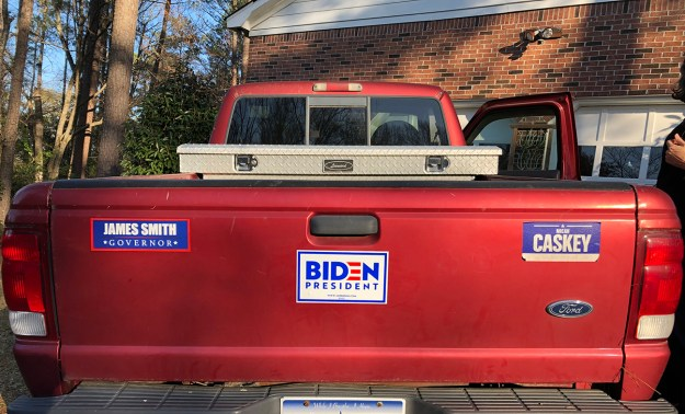 truck Biden
