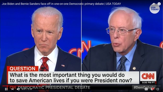 both Joe and Bernie