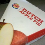 Mold Toppings On Burger King Dutch Apple Pie in Brookings SD