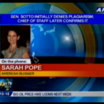 American Blogger Sarah Pope Makes Buzz in Philippine Media