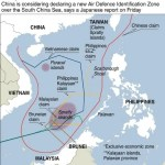 Map of the Disputed Spratly Islands in South China Sea