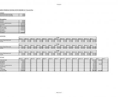 Full Webdesign Business Plan Sample Design BP - business plans sample