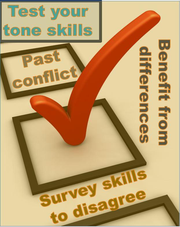 !Survey tone skills