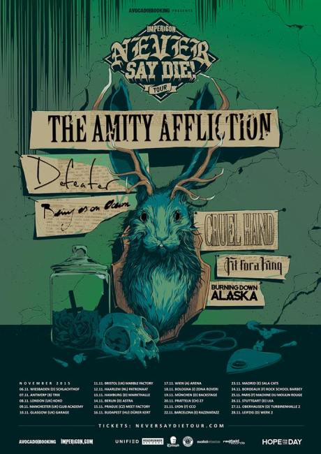 Impericon Never Say Die! Tour 2015