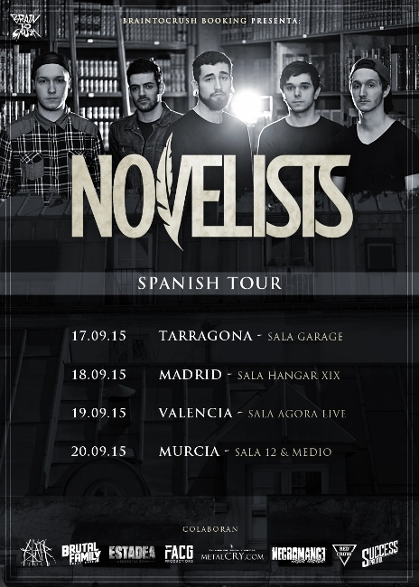 novelists spanish tour