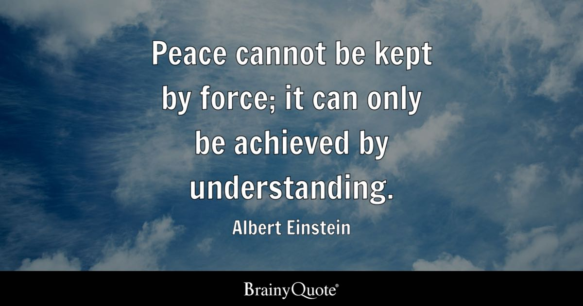 Kennedy Quote Wallpaper Peace Cannot Be Kept By Force It Can Only Be Achieved By