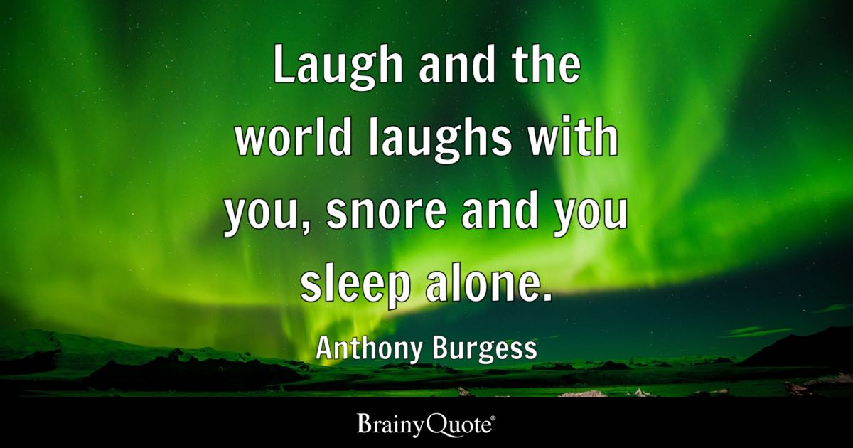 Desktop Wallpaper Tolkien Quote Laugh And The World Laughs With You Snore And You Sleep