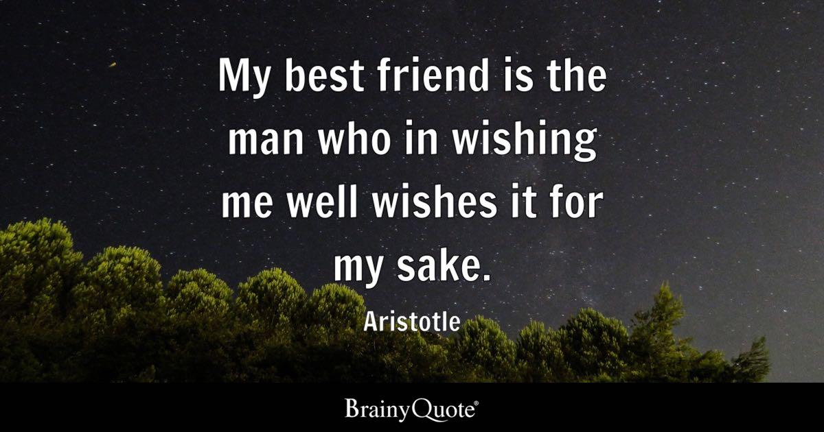 an essay on friendship