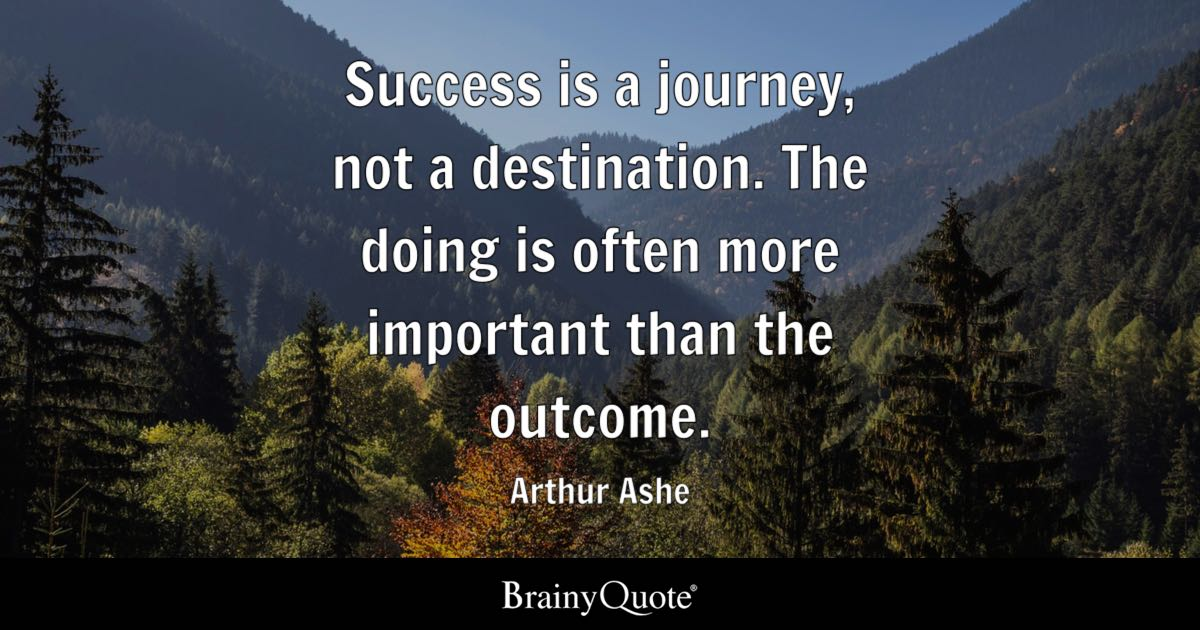 Napoleon Hill Quotes Wallpaper Success Is A Journey Not A Destination The Doing Is