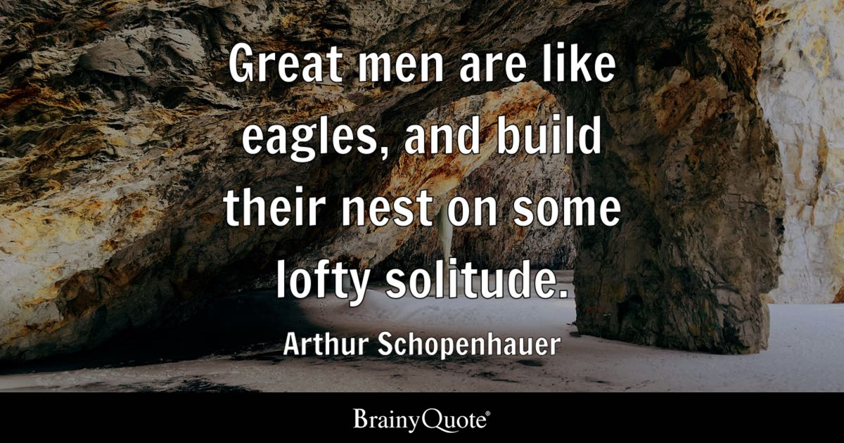 Jfk Quote Wallpaper Great Men Are Like Eagles And Build Their Nest On Some