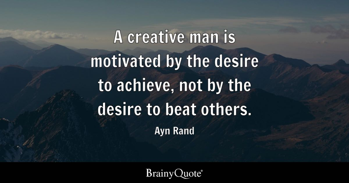 Falling Money Live Wallpaper Ayn Rand A Creative Man Is Motivated By The Desire To