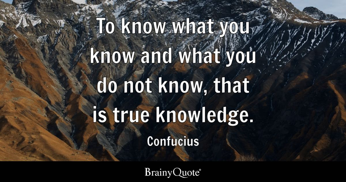 Immanuel Kant Quote Wallpaper Confucius To Know What You Know And What You Do Not