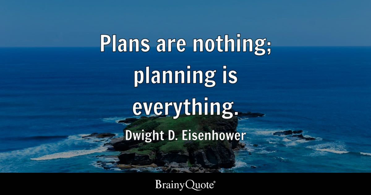 Funny Brainy Quotes Wallpaper Plans Are Nothing Planning Is Everything Dwight D