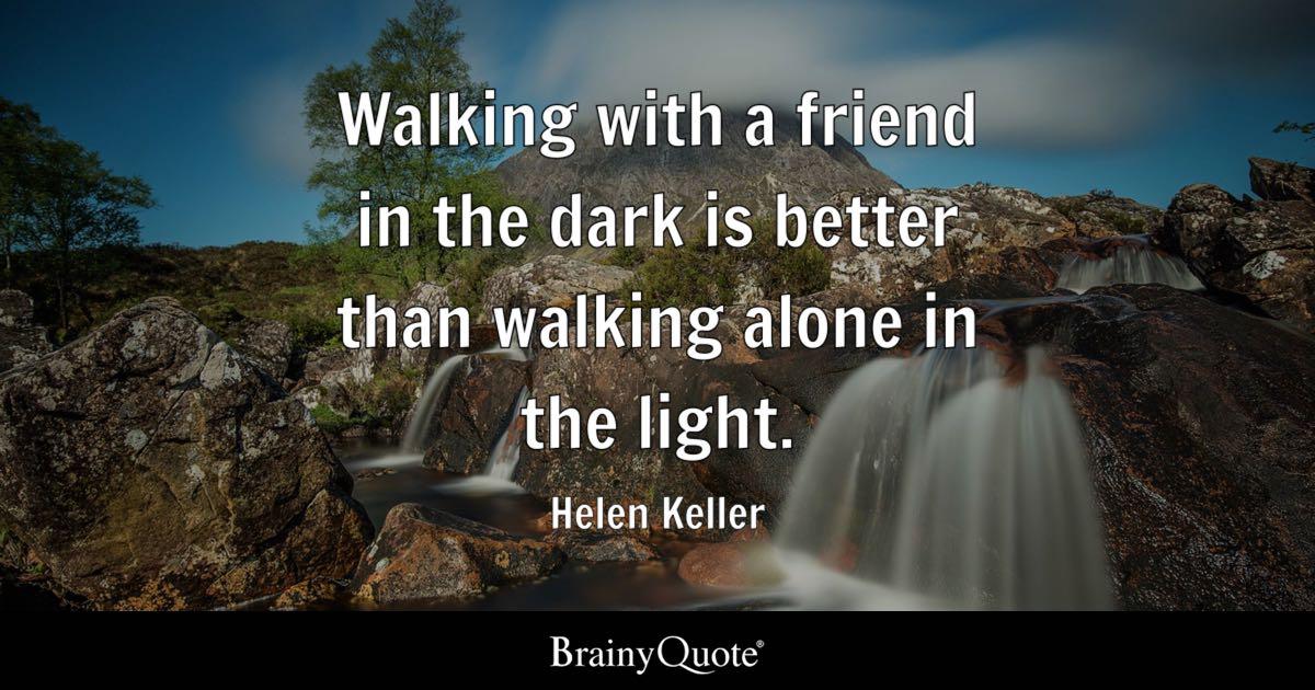Falling Water Live Wallpaper Walking With A Friend In The Dark Is Better Than Walking