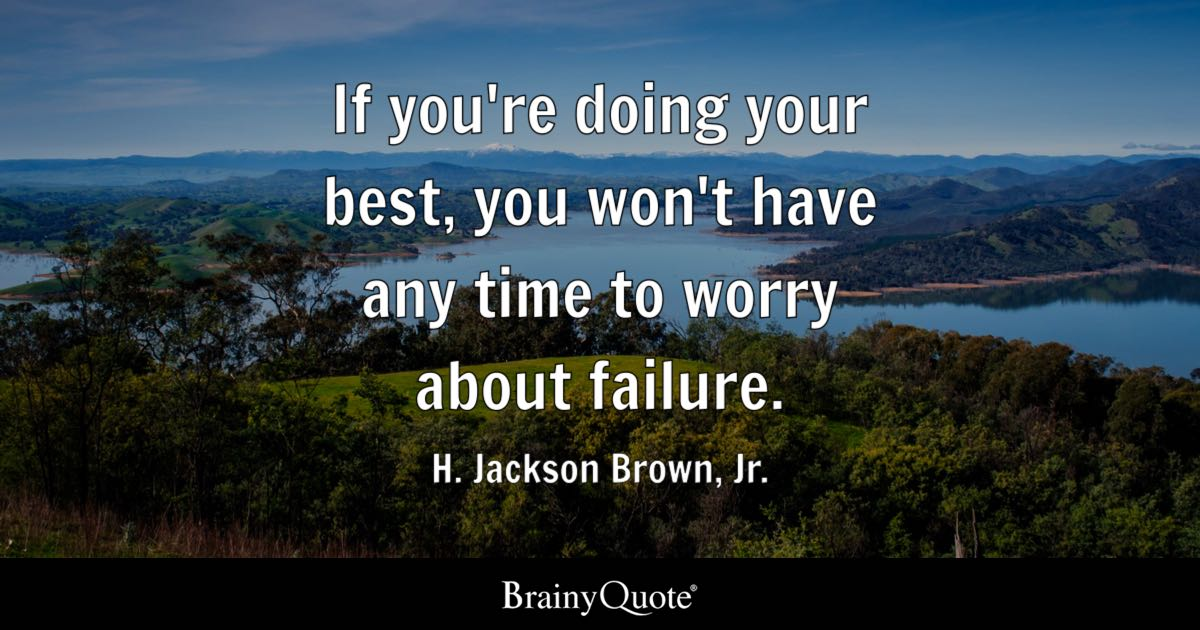 Math Quote With Cool Math Wallpaper H Jackson Brown Jr If You Re Doing Your Best You Won