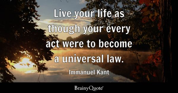 Immanuel Kant Quote Wallpaper Universal Quotes Brainyquote