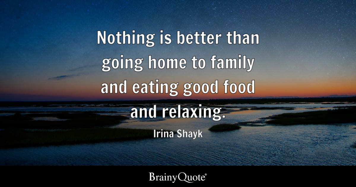Irina Shayk Nothing Is Better Than Going Home To Family