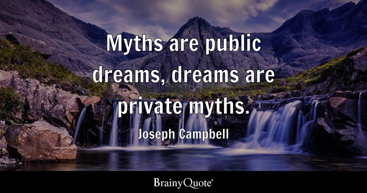October Fall Wallpaper Joseph Campbell Myths Are Public Dreams Dreams Are