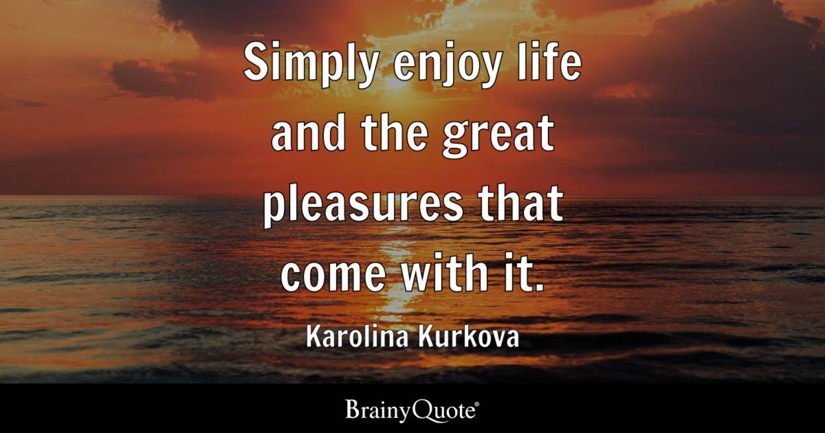 Iphone 6 Wallpaper Steve Jobs Quote Karolina Kurkova Simply Enjoy Life And The Great