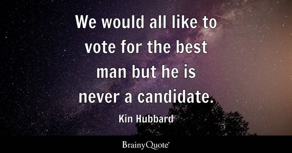 Candidate Quotes - BrainyQuote