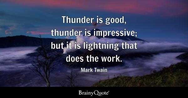 Lightning Quotes